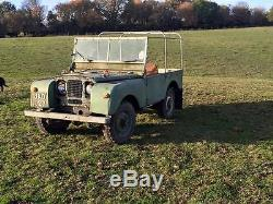 1949 Series 1 Land Rover 2 Owner Vehicle