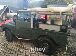 1955 86 Land Rover series 1 ex-mod