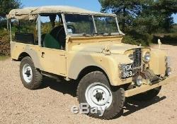 1955 Land Rover Series One 86 Ministry of Supply & RAF