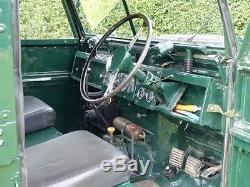 1957 Land Rover Series 1 (one) Ex Mod 88'' Rare Hardtop Version