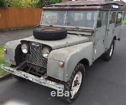 1958 Land Rover Series 1 Station Wagon