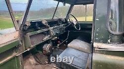 1958 Land Rover series 2 / barn find