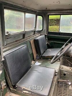 1958 Land Rover series 2a