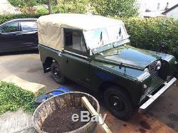 1958 Series 2 Land Rover 2 Litre Diesel