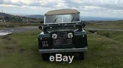 1958 Series 2 Land Rover 2 Litre Diesel Full Recommission