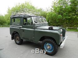 1959 Land Rover 88 Series 11 Station Wagon Diesel, Mot & Tax Exempt, Rock Solid