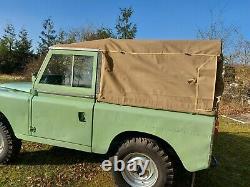 1959 Land Rover Series 2 SWB 88 2.25L Petrol Tax & MOT Exempt New Paint New Roof