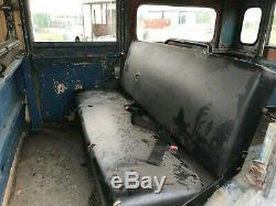 1959 Land Rover Series one 107 Station Wagon project / patina / CKD