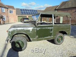 1960 Land Rover series 11 Soft top oily rag Condition