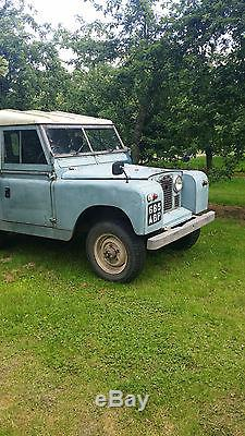 1960 Series 2 Land Rover 2.25 Diesel See correction below