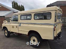 1961 Land Rover 109 series ll, Australian military, Isuzu 2.8 diesel