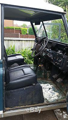 1962 Land Rover Series 2 Tax Exempt 10 Months Mot 2 And A Quarter Turbo Diesel