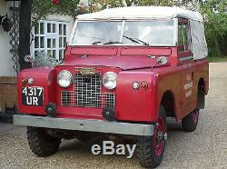 1962 Land Rover Series 2A 2.25 Petrol 4 Speed Manual CLASSIC LAND ROVER