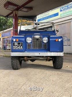1963 Land Rover Series 2 SWB 88 3.0 V6