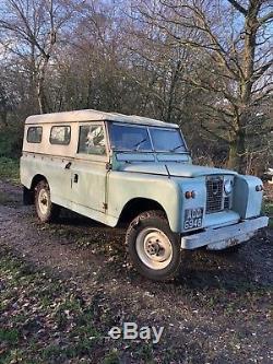 1964 Land Rover Series 2a 109 Diesel