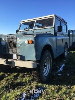 1964 Land Rover series 2A