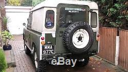 1965 Series 2a SWB Diesel Land rover with a very good chassis and bulkhead