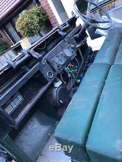 1966 Land Rover Series 2A 2286 petrol project rolling chassis for completion