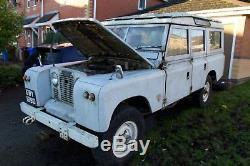 1966, Land Rover Series 2A (Safari Edition), LWB, Unmolested, Petrol, Restoration