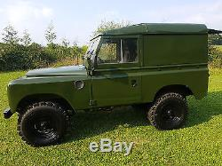 1966 Land Rover Series 2a 3500cc V8 with 10 Mths MOT SWB 88 Tax Exempt