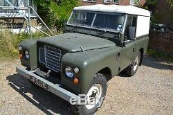 1966 Land Rover Series 2a Diesel Swb 88 Tax & Mot Exempt