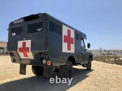 1967 Series2a Land Rover Marshall Ex-RAF Ambulance