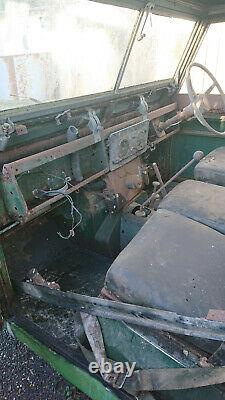 1967 Series 2A 6 wheel, 6 cylinder Land Rover shooting bus project