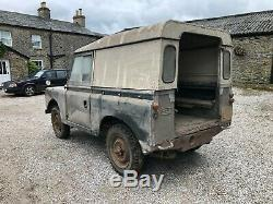 1969 Land-Rover Series 2A Real barn find one owner from new, stored 35+ years