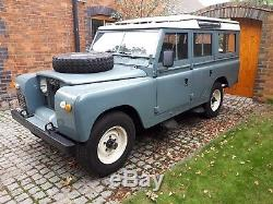 1969 Land Rover Series 2a Station Wagon