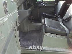 1970 Land Rover Series 3 109 ex MoD 2.25 Petrol Classic