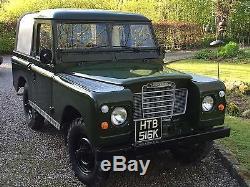 1971 Land Rover Series 2 a tax exempt 11 months mot