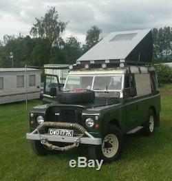1971 Land Rover Series 2a II a 109 2.25 Petrol Camper Mot And Tax Exempt