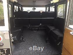 1971 Land Rover series llA, Safari, 10 seater