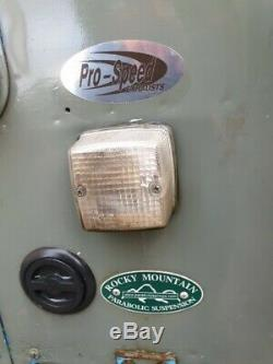 1972 Land Rover Series 3 88 Factory LHD rare vehicle interesting history