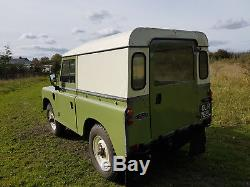 1972 Land Rover Series 3 Tax Exempted & New MOT Very Clean Part Restored SWB 88