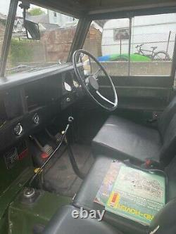 1972 Landrover 88 Series 3 Petrol Taxed As Historic Vehicle