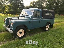 1972 Rare Land Rover Series 3 109 2.6L 6 Cylinder