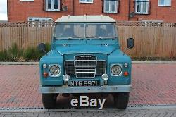 1972 Series 3 Land Rover