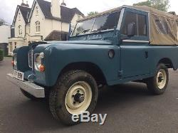 Land Rover Marin >> 1973 Land Rover Series 3 2286cc Tax Exempt Marine Blue