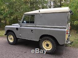 1973 Land Rover 88 series lll, 4 CYL diesel with overdrive, tax free