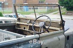 1973 Land Rover Land Rover Series II 109 with NOS Frame & Bulkhead