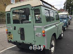 1973 Land Rover Series 3 Station Wagon with 200DI excellent order Tax Free