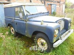 1974 Land Rover 88 Series 3 4 Cyl Blue Barn Find Just 3 Owners From New