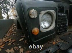 1974 series 3 land rover complete pick up body with v5, rat rod, 4x4 buggy