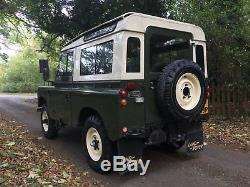 1975 Land Rover Series III 88 2.25 Petrol