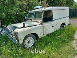 1976 Land Rover Series 3 109 LWB Diesel Restoration Project with V5 etc