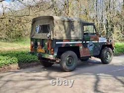 1976 Land rover military lightweight Series 3