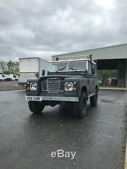 1977 LAND ROVER SERIES 3 DIESEL -GALVINISED CHASSIS c/w Overdrive & new starter