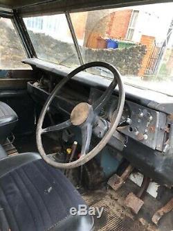 1977 Land Rover 109 series 3 diesel LWB