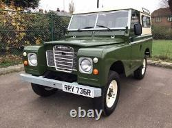 1977 Land Rover 88, Series 111, Fully Restored